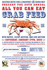 Native Sons / Native Daughters 34th Annual All You Can Eat Crab Feed Online Reservations